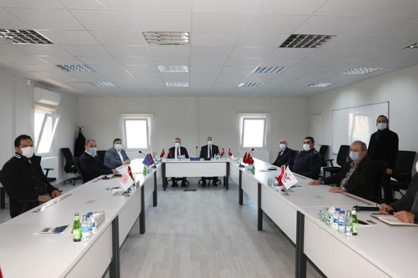 Governor of Tekirdağ, Mr. Aziz Yıldırım and Governor of Kırklareli, Mr. Osman Bilgin visited Site Office of Halkalı – Kapıkule Railway Project