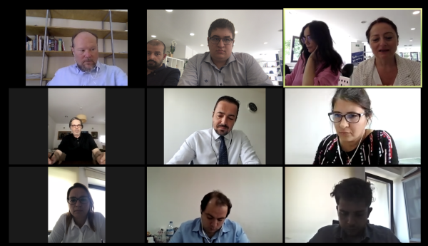 The Online Operational Kick-off Meeting is Organised for the Project Strengthening the Transport Operating Structure and ERAs in IPA II (2014-2020) Period